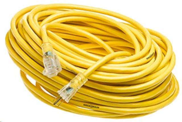 Where to find EXTENSION CORD 12 3 110V PLUG 50FT in Lexington