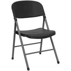 Rental store for CHAIRS, BLACK PLASTIC in Lexington KY