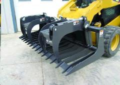 Rental store for SKIDSTEER, UTILITY SCRAP GRAPPLE BUCKET in Lexington KY