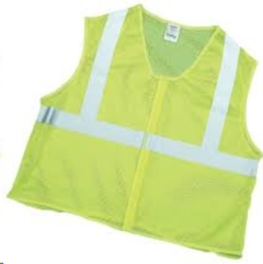 Rental store for MUTUAL, CLASS 2 LIME MESH VEST LG in Lexington KY