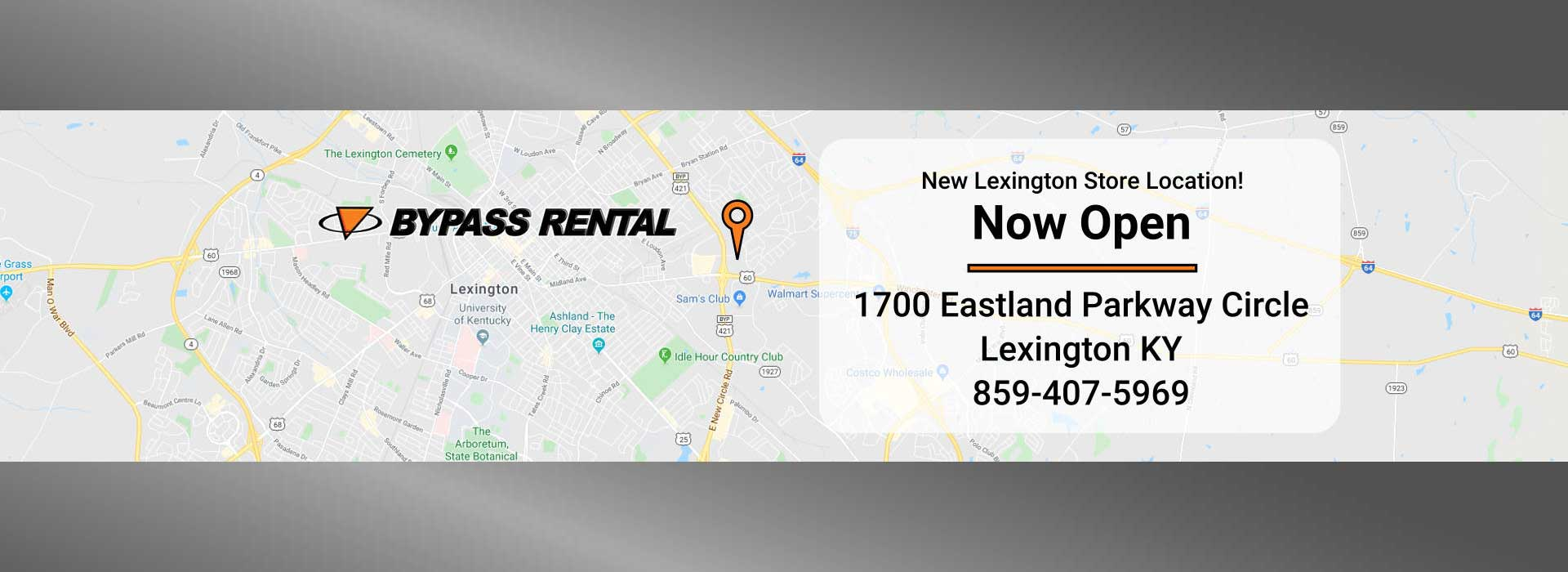 New Bypass Rental & Hardware Location - 1700 Eastland Pkwy Circle, Lexington KY